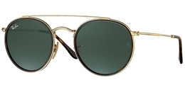 RAY BAN RB 3647N 001 51 ROUND DOUBLE BRIDGE - ÓCULOS DE SOL 869b3ddcd7